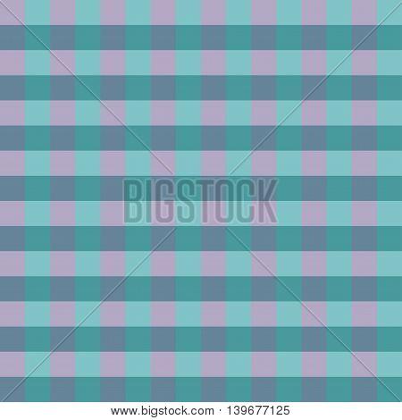 Seamless pattern blue pink Chessboard Background Vector Illustration