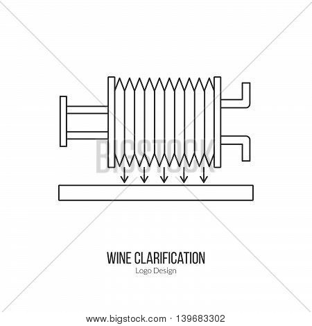 Winemaking, Wine Tasting Logotype Design Concept