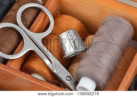 Retro Sewing Kit