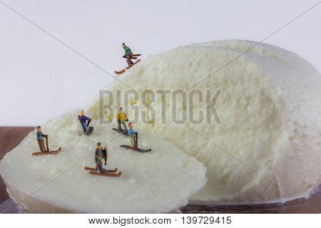 Mozzarella And Skiers