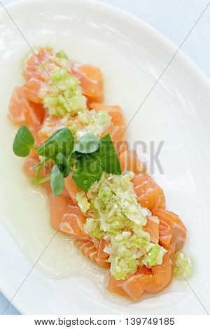 Salmon Poke