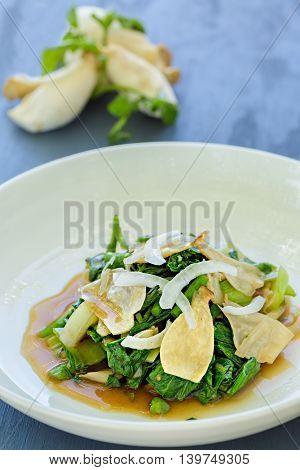 Watercress Bok Choy Salad