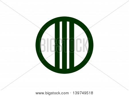 Japan Miyagi prefecture Sendai city flag illustration