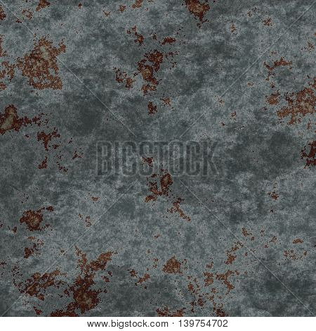very old dirty corroded sheet metal procedural texture