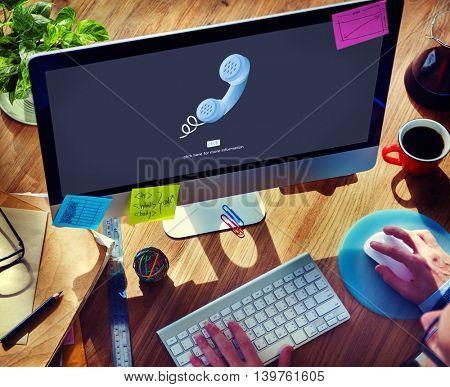 Call Telephone Communication Phone Conversation Concept
