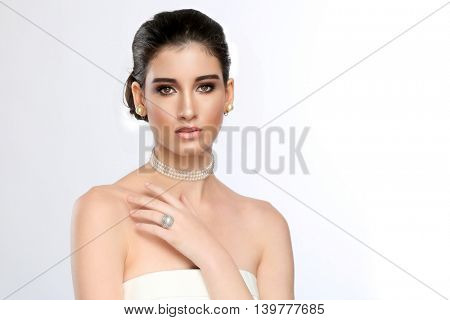 Beautiful Bride Portrait on her Wedding Day
