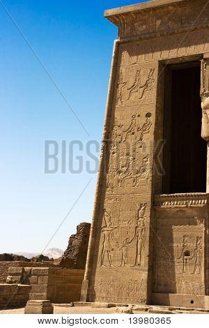 Dendera Temple. Near The Kane Town. Egypt. Luxor.