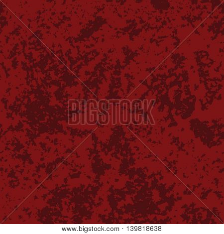 Abstract distressed texture, grunge background. Vector seamless pattern in red colors