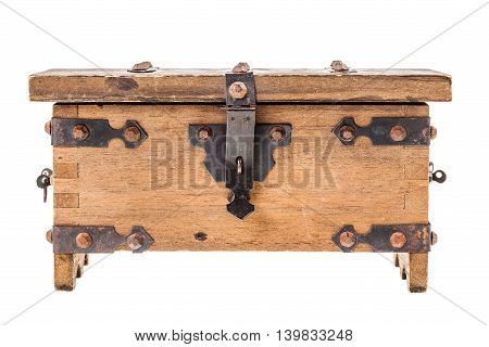Wooden Medieval Coffer