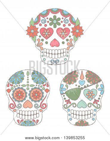 Watercolor Skulls3.eps