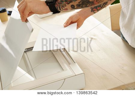 Printer Scanner Set