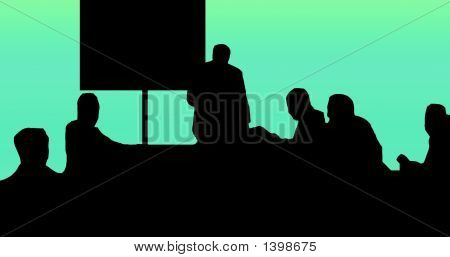 Classroom Silhouette