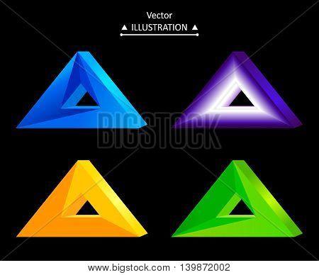 Triangular Logo Set