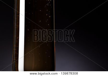 Close Up Image Of A Champagne Flute