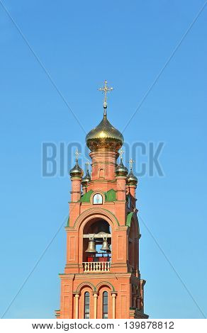 Belltower Of Eastern Orthodox Cathedral