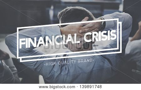 Thinking Crisis Analyse Depression Problem Concept