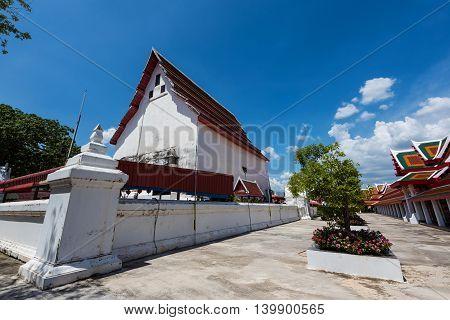 Temple Architecture Of Wat Palelai, Suaphanburi,
