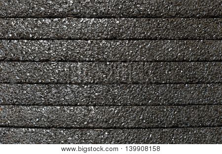 Abrasive wheels for angle grinders stacked pile , background