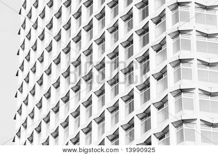 Abstract detail of modern architecture