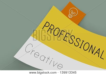 Professional Profession Creative Business Concept