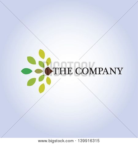 tree  logo ideas design vector illustration on background