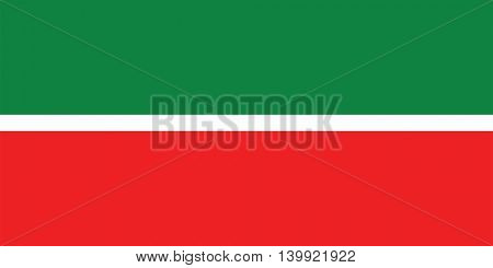 Vector Republic of Tatarstan flag
