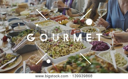 Food and Beverages Gourmet Delicacy Delicious Concept