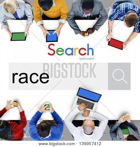 Race Racial Ethnicity Diversity Associate Community Concept
