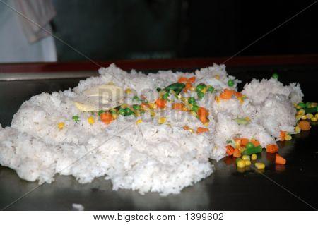 Hibachi Rice