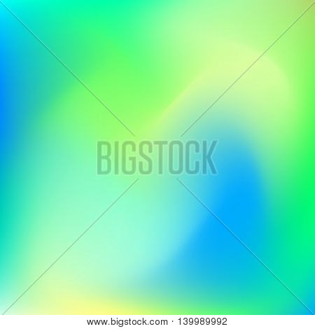 Abstract background with trend gradient pastel blur colors, lime, yellow, green, blue and cyan for design concepts, web, business presentations, banners and prints. Vector illustration.