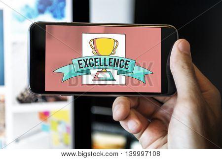 Excellence Achievement Concept