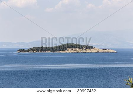 Small Island In Greece