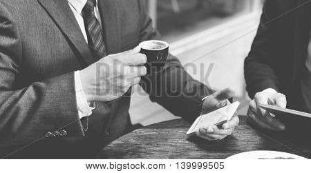 Business Colleagues Coffee Break Concept