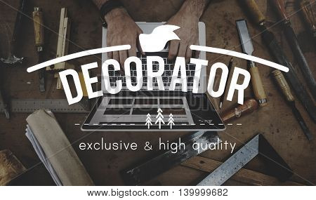 Equipment DIY Decoration Design Art Concept