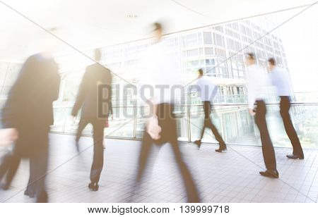 Business People Commuter City Concept