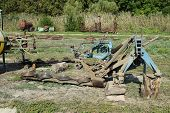 Trailer Hitch for tractors and combines. Trailers for agricultural machinery. poster