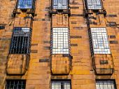 High dynamic range HDR The Glasgow School of Art designed in 1896 by Scottish architect Charles Rennie Mackintosh Glasgow Scotland poster
