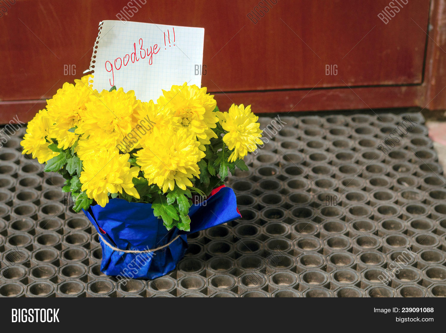 Letter On Piece Paper Image Photo Free Trial Bigstock