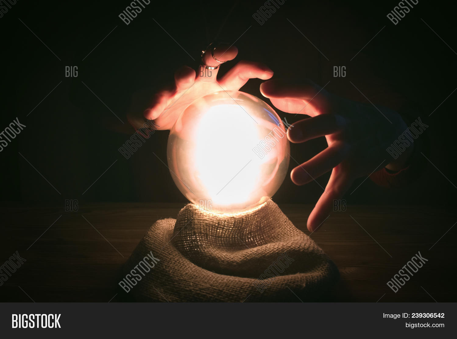 Crystal Ball Fortune Image & Photo (Free Trial) | Bigstock