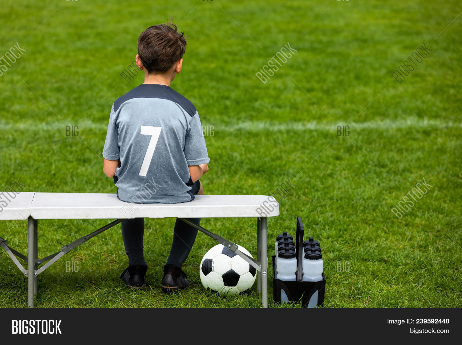 Little Footballer Image & Photo (Free Trial) | Bigstock