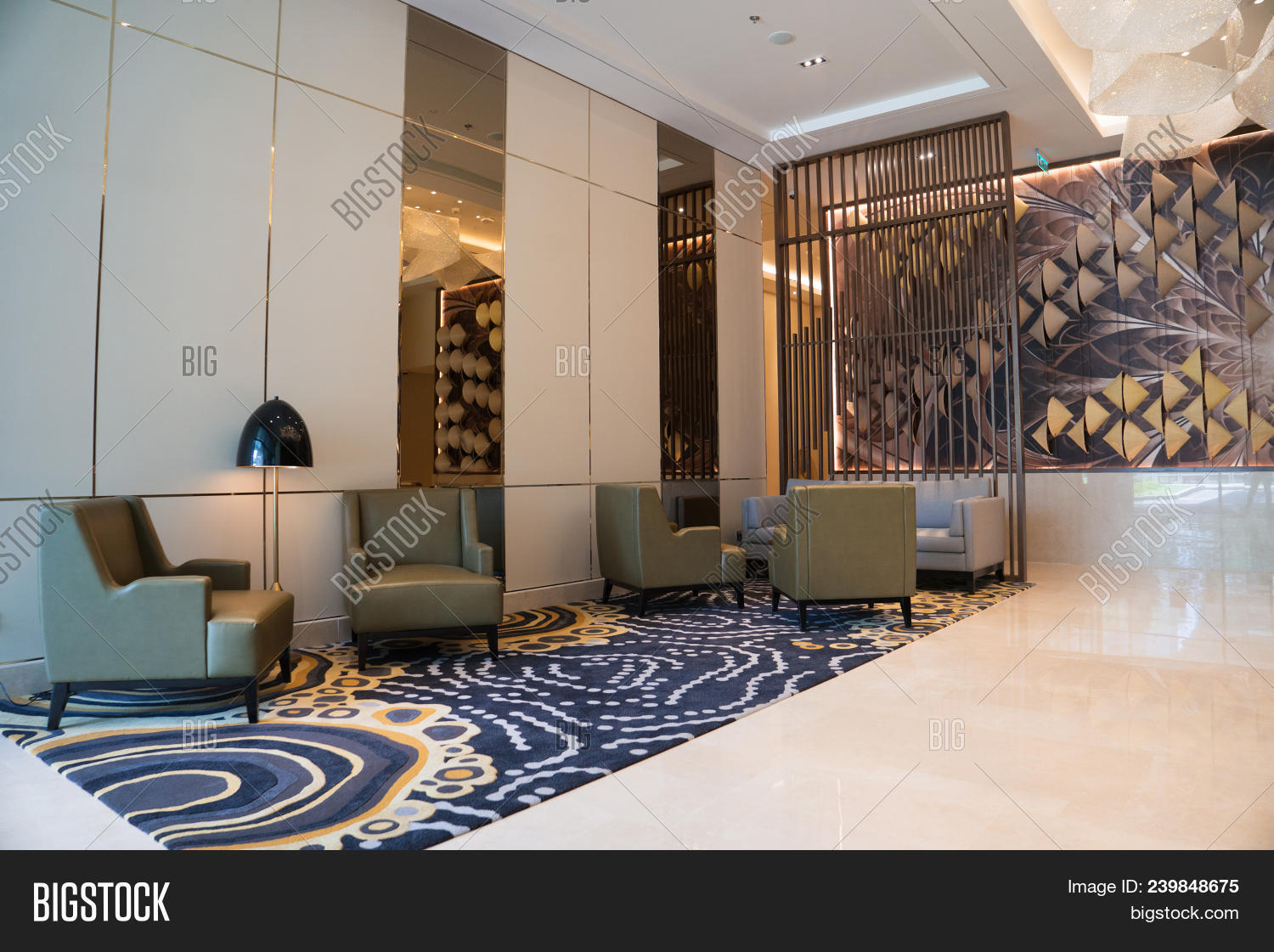 Modern Hotel Lounge Image & Photo (Free Trial) | Bigstock
