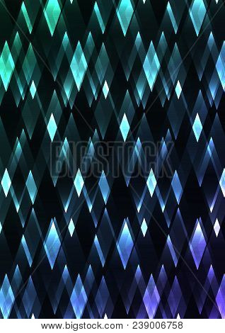 turquoise crystal vector photo free trial bigstock