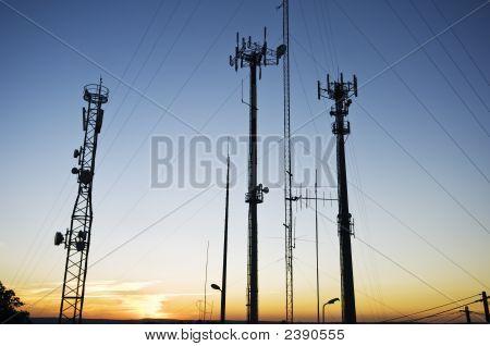 Telekom-Antennen