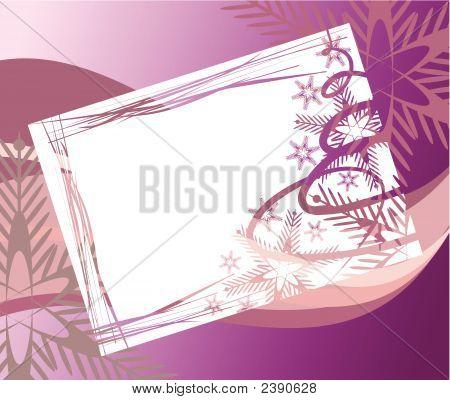Abstract Holiday Card