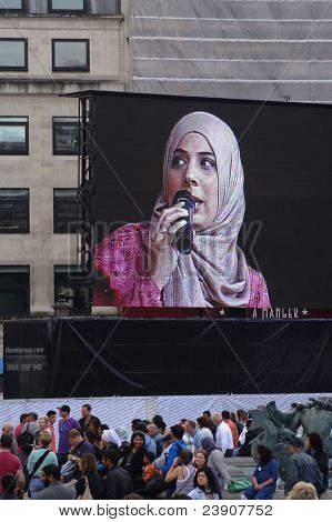 EID Festival at Trafalgar Square (London) UK