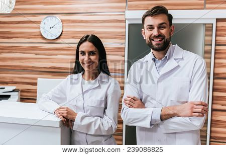 Two Doctors In Clinic