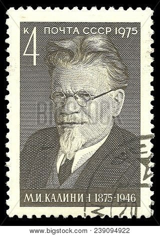 Ussr - Circa 1975: Stamp Printed By Ussr, Color Edition On Famous People, Shows Birth Centenary Of S