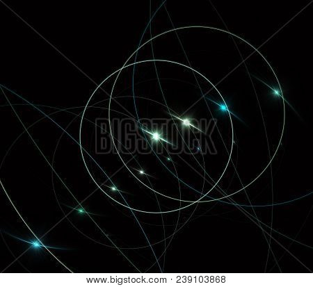 String Theory. Physical Processes And Quantum Theory. Quantum Entanglement. An Abstract Computer Gen
