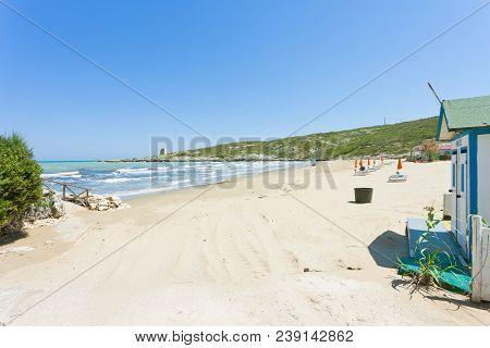 Lido Cala Lunga, Apulia, Italy - Arriving At The Calming Beach Of Cala Lunga