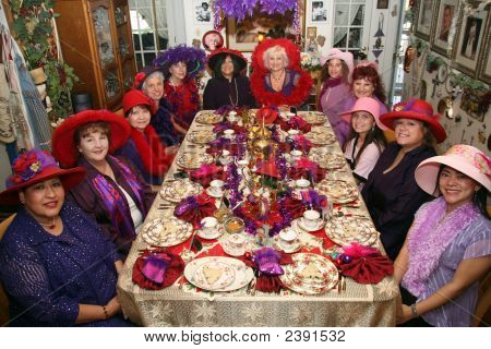 Tea Party Women